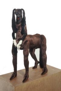 'Centaur brown', soft sculpture, 2003, 90 x 90 x 60 cm