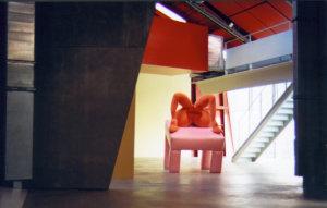 'Urban sprawl' in groninger museum, soft sculpture, 1999, 250 x 200 x 200 cm