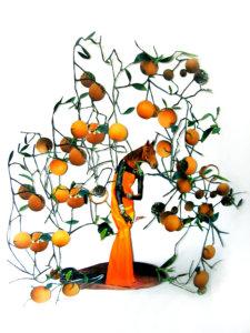 'Orange tree amazone, collage, 2008, 50 x 60 cm