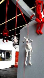 'Kersentuin installatie kersgalerie rai', installatie, 2017