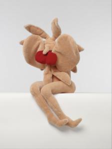 'Bloemk-t miena boijmans', soft sculpture, 2002, 70 x 70 x 60 cm