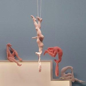 'Virginis sanctae', detail, installatie groninger museum, soft sculptures, 2006, 800 x 500 x 300 cm